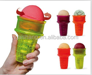 American Fashionable First Rate High Quality food grade plastic ice cream cones Bpa free