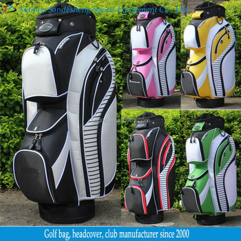 Deluxe Colorful Golf Bag With Full Length Dividers - Buy ...