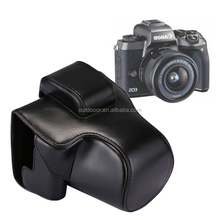 wholesale dropshipping Full Body Camera PU Leather Case Bag with Strap for Canon EOS M5