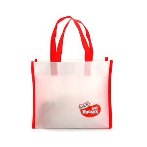 Wholesale promotional eco friendly non-woven shopping bag with customized logo