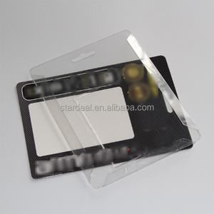 Custom sliding memory card and micro sd card plastic blister packaging with printed card