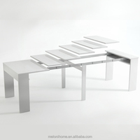 Modern Home Furniture Extendable Dining Table,Multifunction Expanding folding Furniture