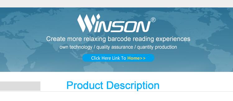 Winson WINNY PDA escáner de código de barras 1D 2D escáner de código de barras de mano lector RFID