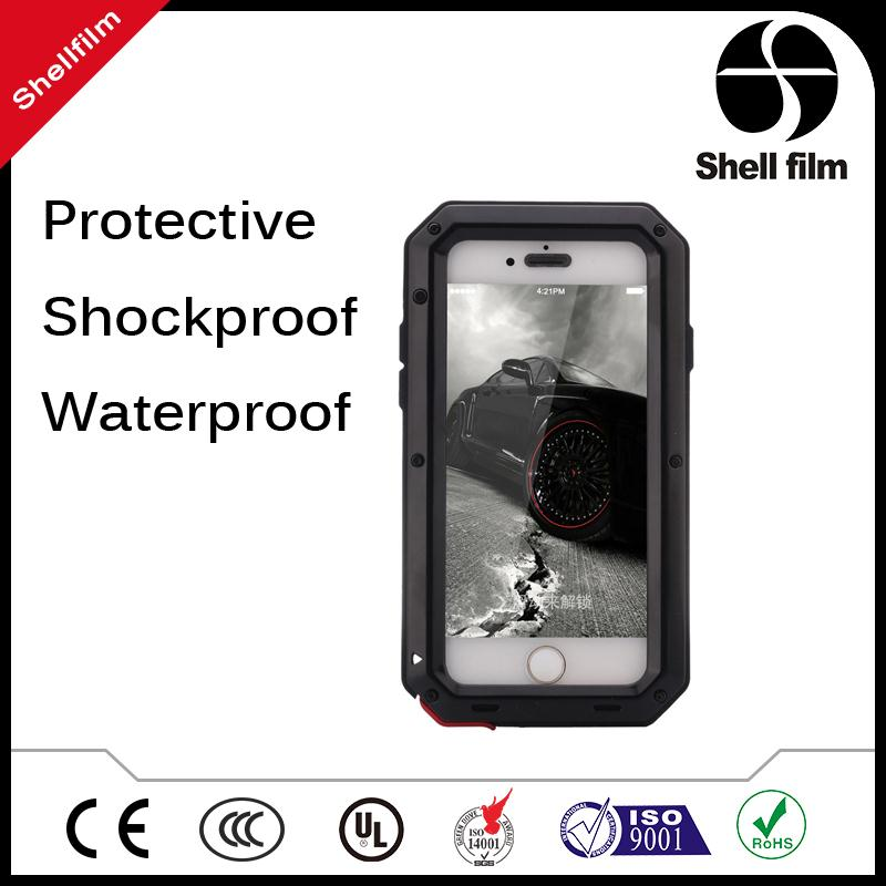ALL round protective mobile cases with kickstand, for Samsung S7 shockproof waterproof phone cases accept paypal payment