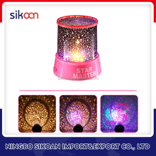 Realistic LED Light Star Snow Sky Projection Projector Night Lamp Projects Stars Romantic Moon light