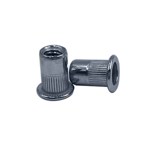 Made in china rivet nut threaded inserts nut sert countersunk head splied stainless steel nut
