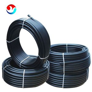 HDPE Polyethylene 6 inch water supply pipe