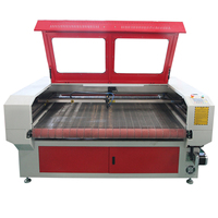 CO2 laser 150 watt automatic feeding Fabric laser cutting machine 1800mmx1000mm