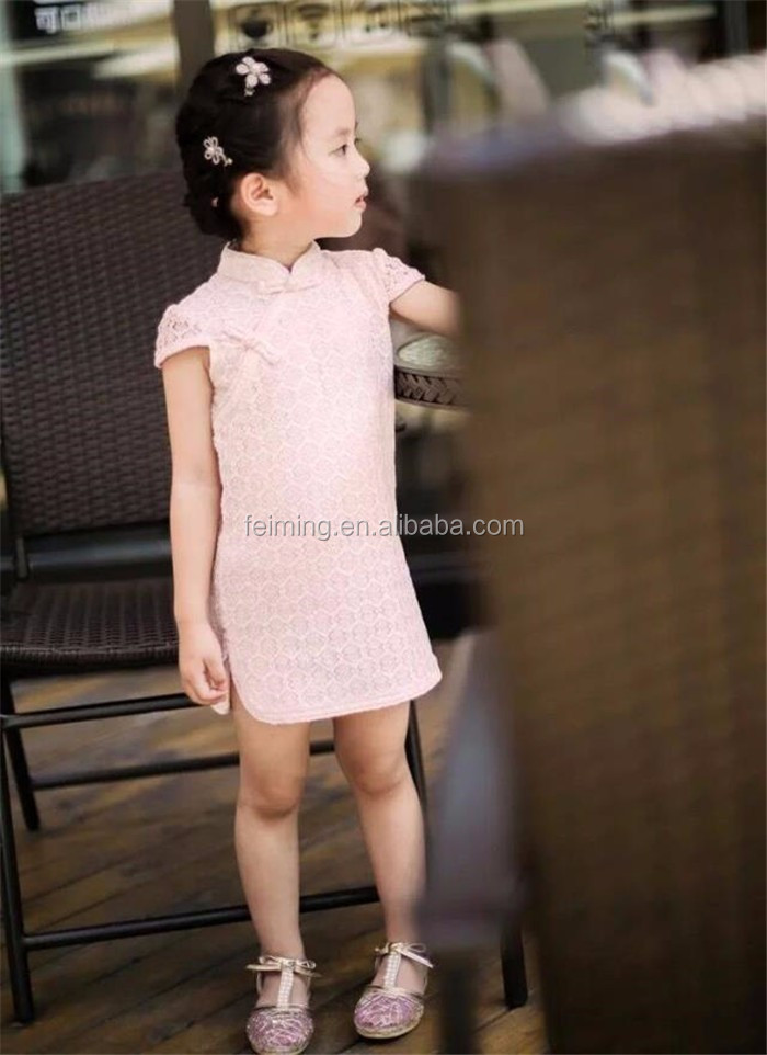 SD-1006G alibaba in russian children causal clothing plain little kids dress with sleeveless baby wear