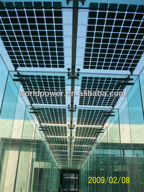 Chinese Best 5 50 Transparent Solar Panel Bipv For