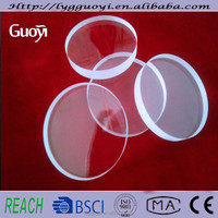 heat resistant furnace view quartz glass plate