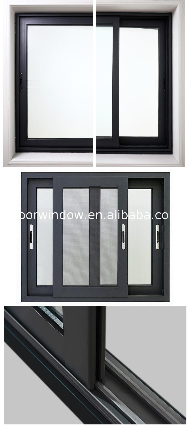 nzs2047 aluminium Office interior sliding window