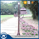 Outdoor Post Mounted Mailboxes Free Standing Mailboxes With Light