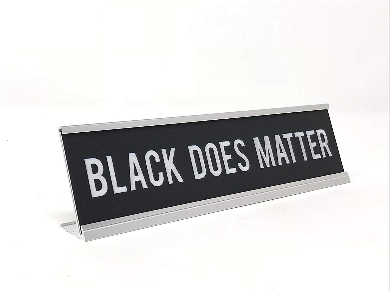 White Engraving Girl Boss Novelty Nameplate Style Desk Sign aahs!