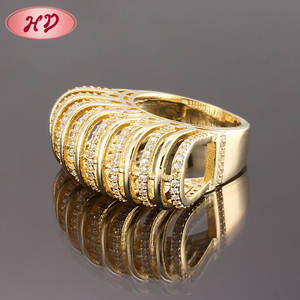 Free Sample Jewelry Saudi Arabia 2 Gram 18K Gold Wedding Ring For Women