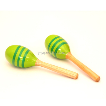 2018 world musical instrument korea colorful maracas toy for
