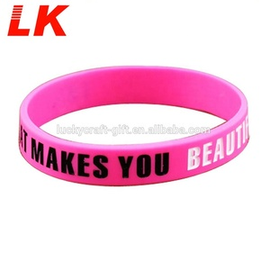Fashional design your style silicone wristbands with free sample