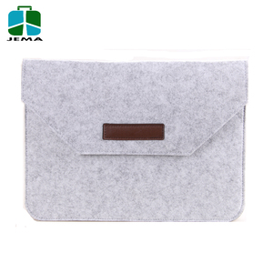 Hot selling Felt 15.6 inch Laptop sleeve case waterproof made in china