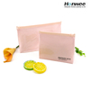 Cheap wholesale eco handle portable cosmetic makeup plastic bag pouch