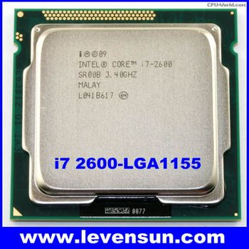 desktop intel core cpu processor i7 2600 3.4GHz 8M quad core i7 cpu LGA1155