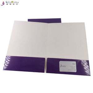 Full Color Two Pocket A4 Size File Folder with Custom Logo
