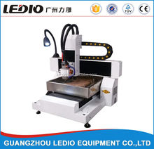 Guangzhou 4040 6060 aluminium stainless steel iron carving mini cnc router machine for sale