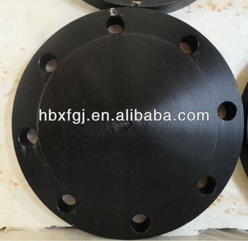 ANSI B 16.5 forged cs q235 300lb blind flange