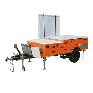 Professional hot sale semi trailer camper van Manufacturer with 31 Years Experience