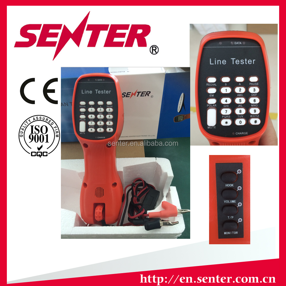 SENTER ST230E Lineman butt test set telephone line test set butt testing set