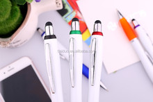 Office Marketing Wholesale Promotion Excellent Quality Elegant Design Ballpoint Pen With stylus Customized Shape Logo
