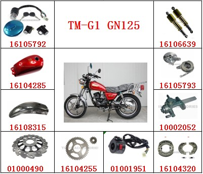 TMMP TM-G1 GN125,Motorcycle spare parts,high quality
