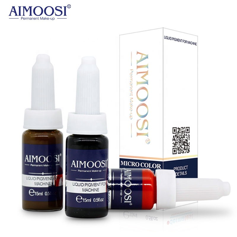 Aimoosi Lip & Eyebrow Make-up-Pigment Permanent Make-up Tattoo-Tinte