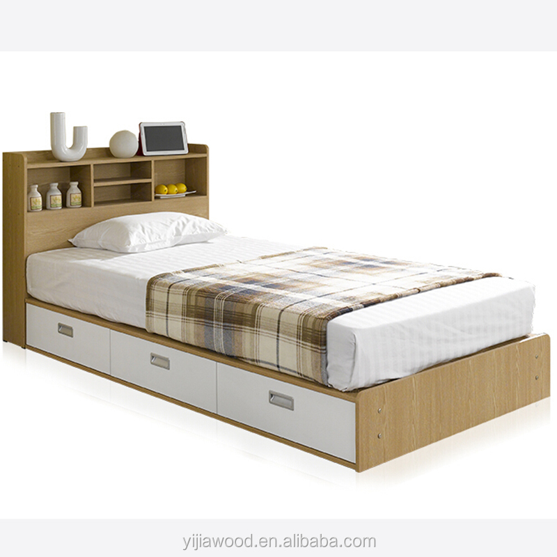 Wooden Single Bed, Wooden Single Bed Suppliers And Manufacturers At  Alibaba.com