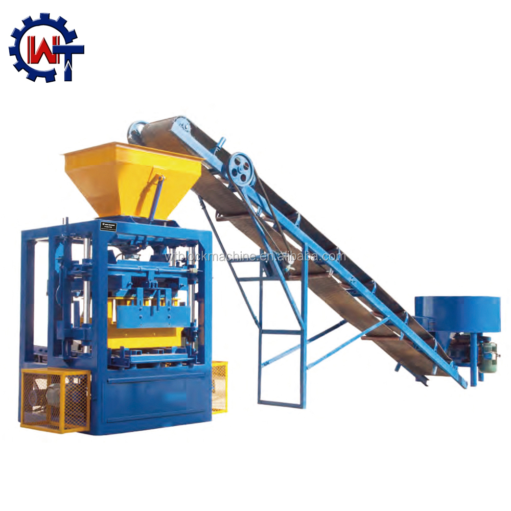 Qt4-24 cement hollow brick making machine price in kerala