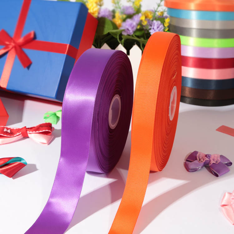 100% polyester printed satin ribbon/ribbons/ribbon bows