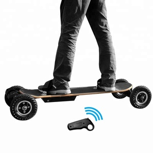 14.5KGS weight 3300W brushless motor 4 wheels electric all terrain skateboard