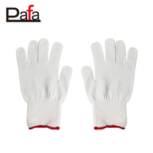 Fashion knitted funky colored cotton hand gloves with PVC dots