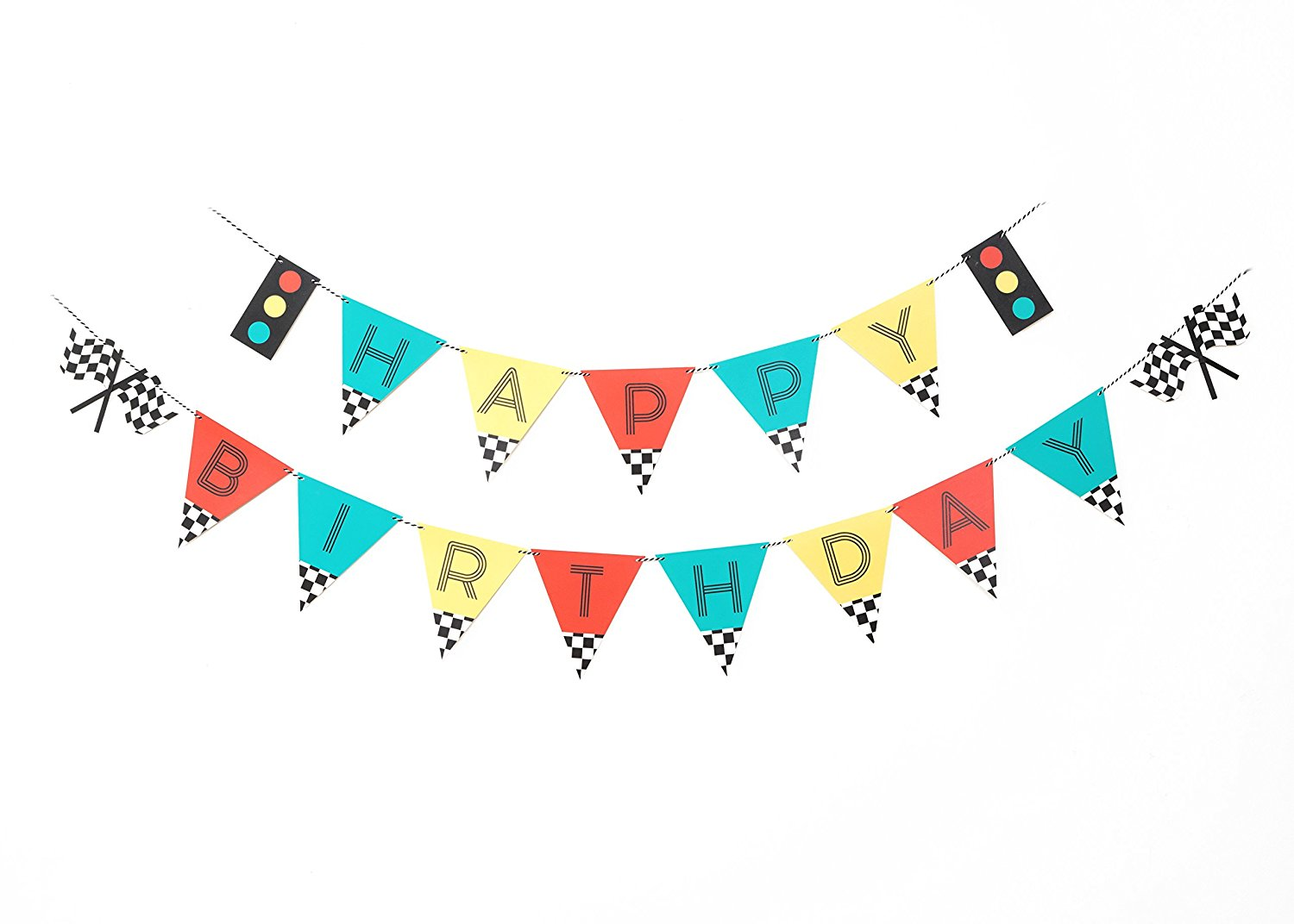 Buy Vintage Race Car Birthday Banner Happy Birthday Banner Sign Birthday Decoration Race Car Party Boy Birthday Party Decorations Kids Party Checkered Banner