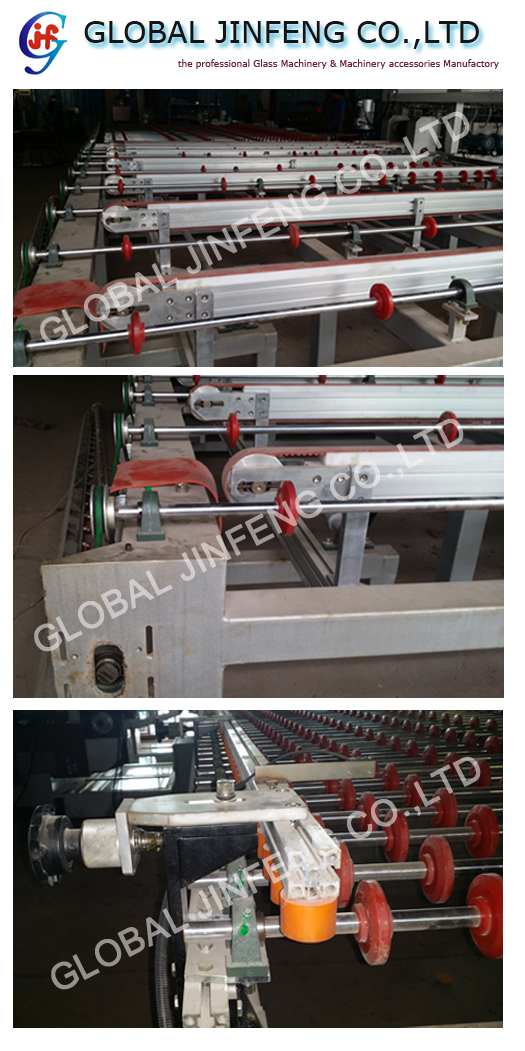 JFD2015 High speed glass double edging and polishing machine for window door glass processing