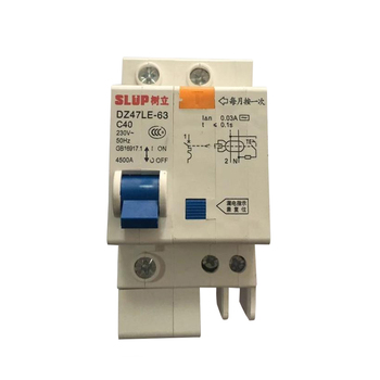 New Product Residual Current Device 3 Phase ELCB RCCB MCB Earth Leakage circuit breaker