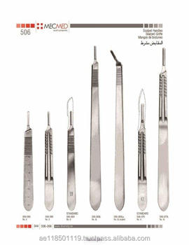 Surgical Steel Scalpel Blades | University Products | Anatomy ...