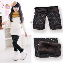 88b146dbd82a5 2014 Spring Autumn Winter New Fashion Children's 2-9 Year Cotton Warm Pant  Girls KidsTrousers