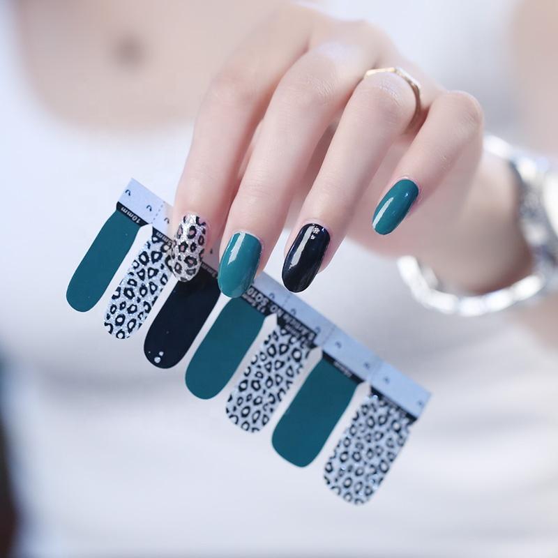 S series Factory Price Wholesale Nail polish stickers Nail Appliqure Beautiful Nail art Designs