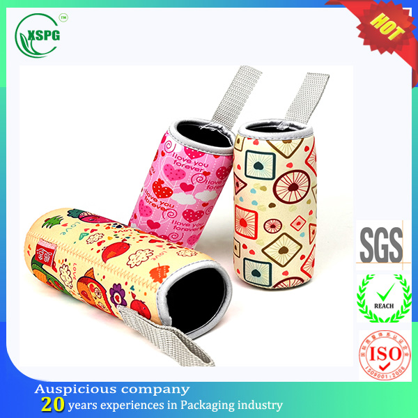 Famous facory neoprene water bottle sleeve bag carrier