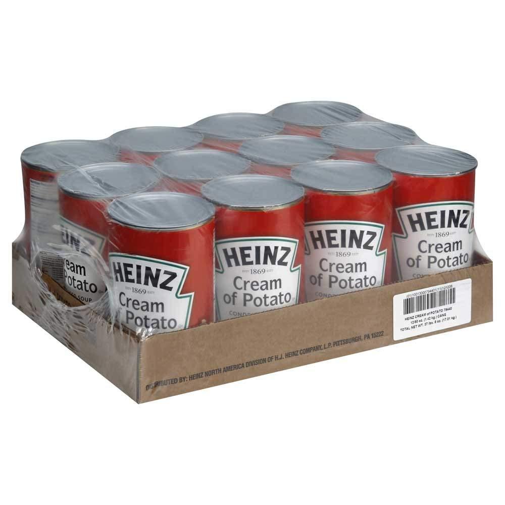 Heinz Cream of Potato Soup - 50 oz. can, 12 per case