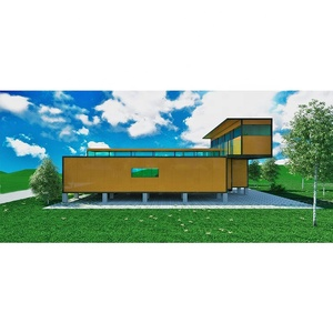 Prefabricated Steel Container Home Prefab House Livable Container