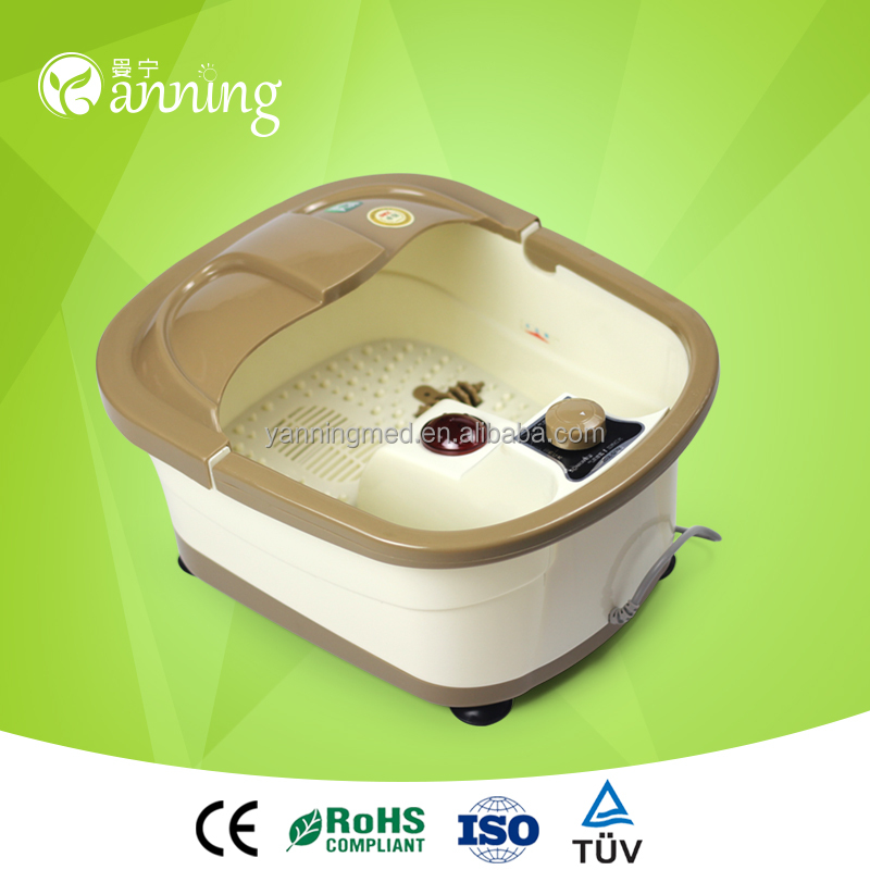 Hot selling infrared ionic detox Foot bath tub/massager with heat