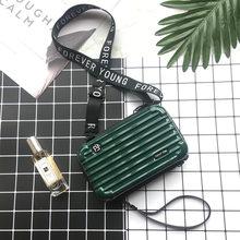 Роскошные сумки, дизайнерские сумки для женщин 2019, сумка-чемодан, модная маленькая сумка для багажа, женская сумка-клатч от известного бренд...(Китай)