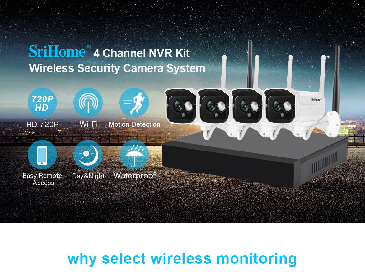 Sricam NVS001 outdoor 9-channel Wifi 720P Camera NVR CCTV Wireless Camera System 4CH wifi NVR kit wireless cctv camera 1080P.jpg