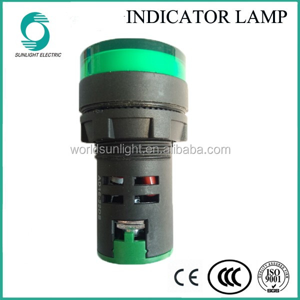 Wholesale IP65 ad16-22ds green LED singal light indicator lamp ...